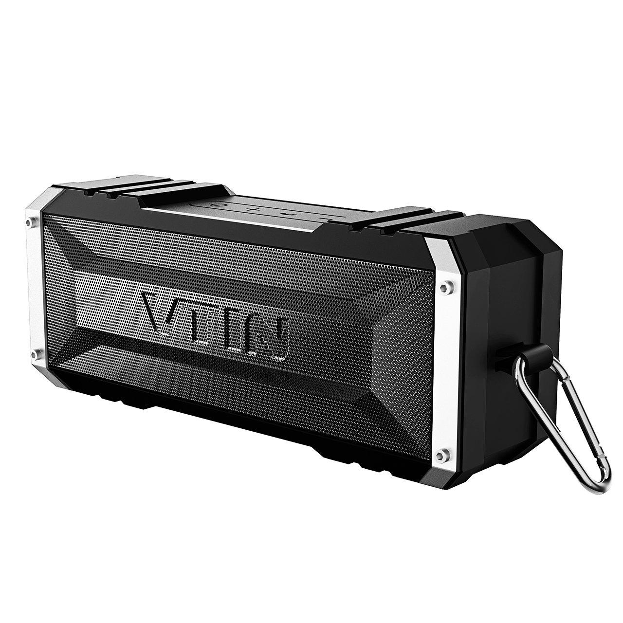 Vtin 20 Watt Waterproof Bluetooth Speaker, 25 Hours Playtime