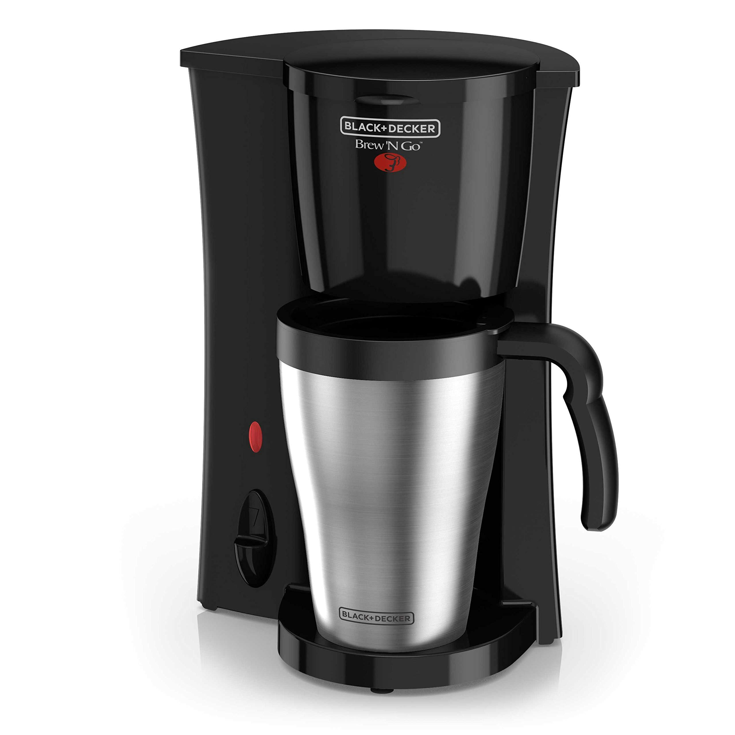 Black & Decker DCM18S Drip Coffeemaker Coffee Machine Black