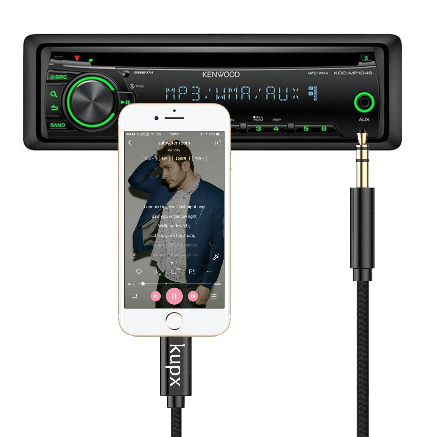 Lightning To 3 5mm Male: Lightning To 3.5 Mm Headphone Jack Adapter Male Aux Stereo
