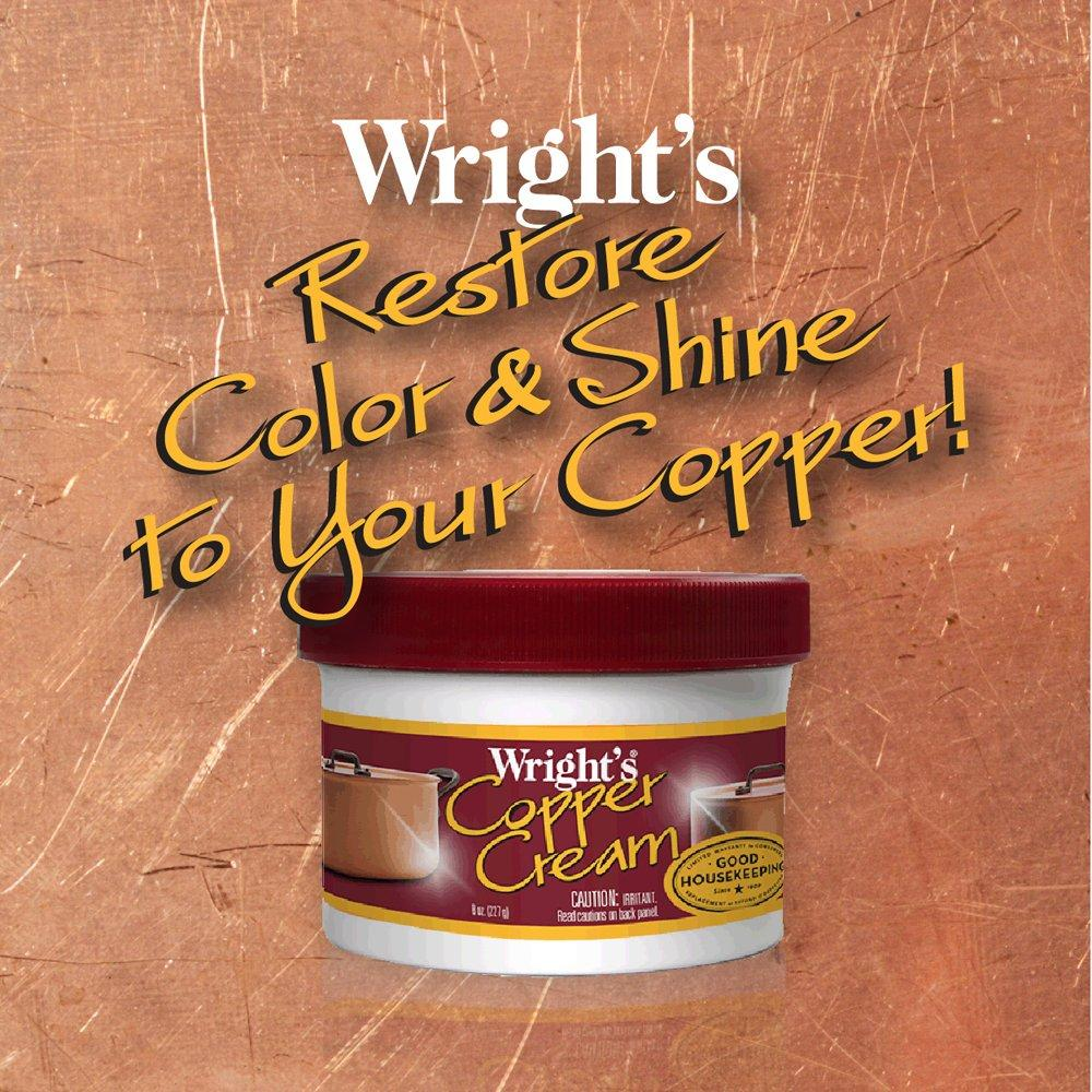 Wright-039-s-Copper-and-Brass-Cream-Cleaner-8-Ounce-Gently-Cleans-and-Removes thumbnail 4
