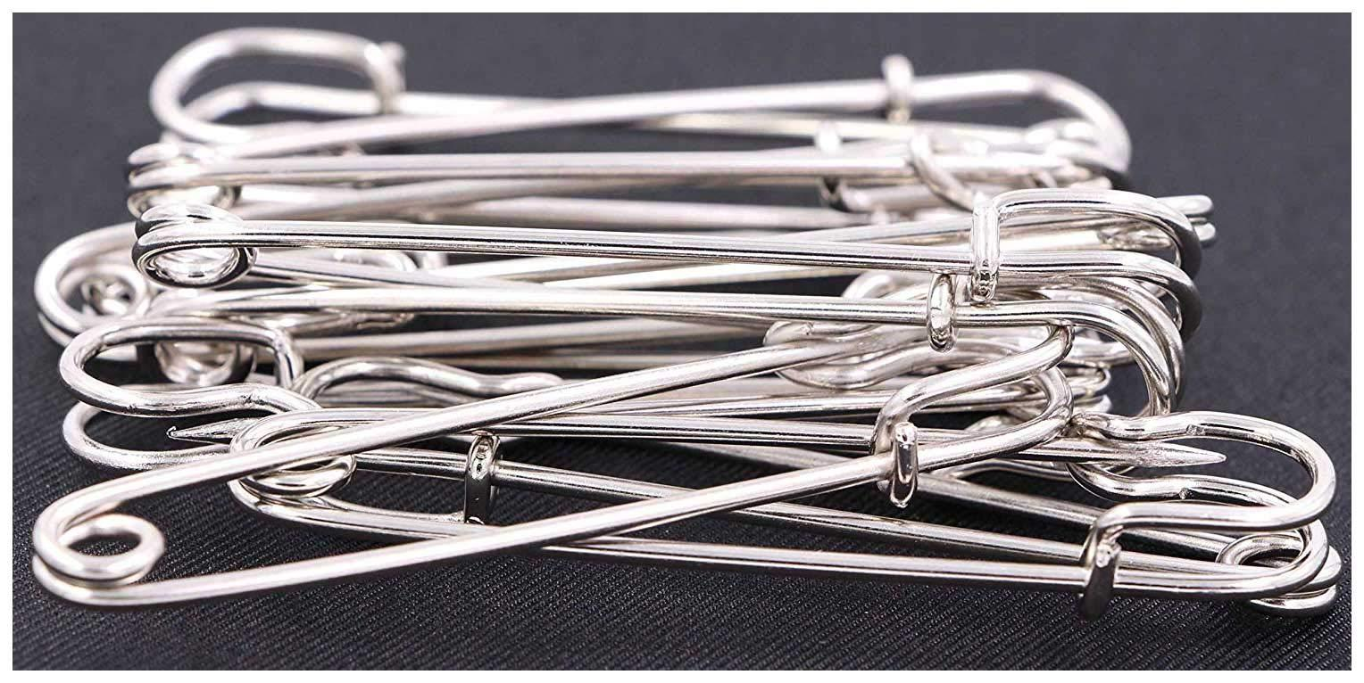Safety Pins Large Heavy Duty Pin LeBeila 12pcs Blanket 3 inch Stainless Steel