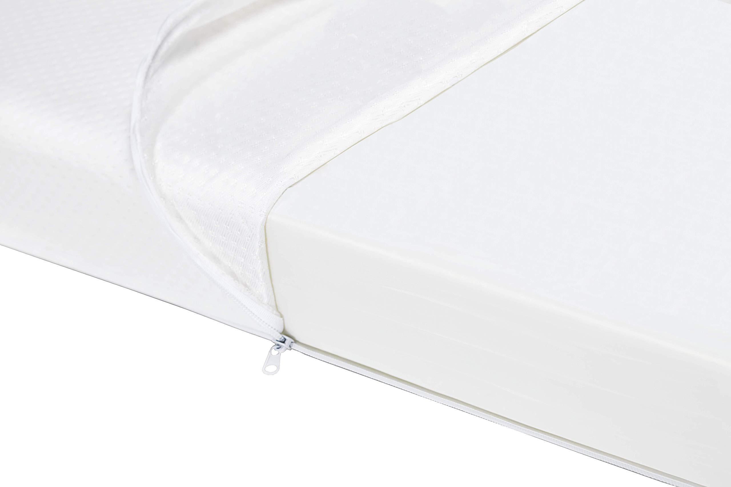 Graco Premium Foam Crib Amp Toddler Bed Mattress Water