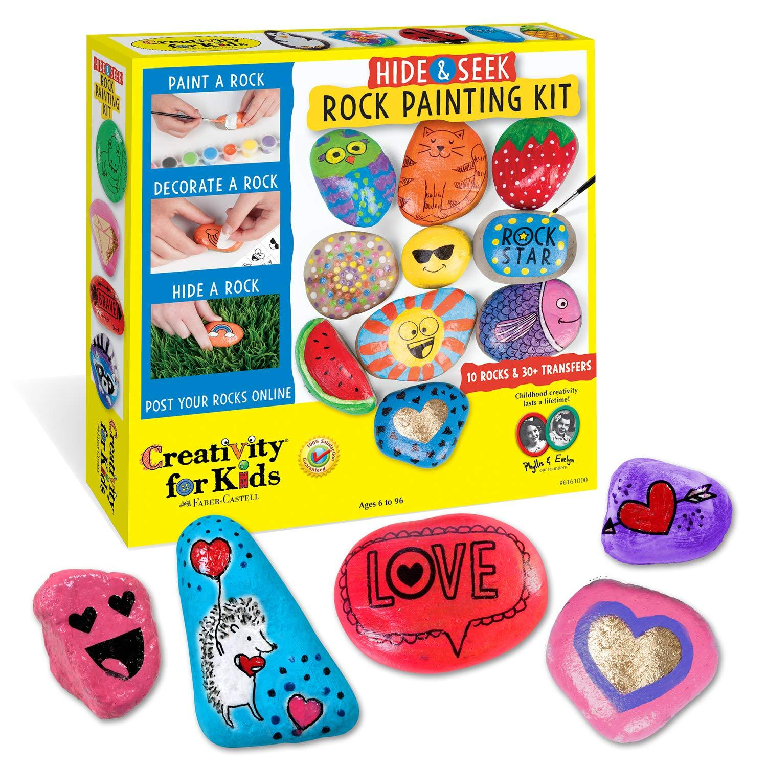 Rock Art Painting Kit