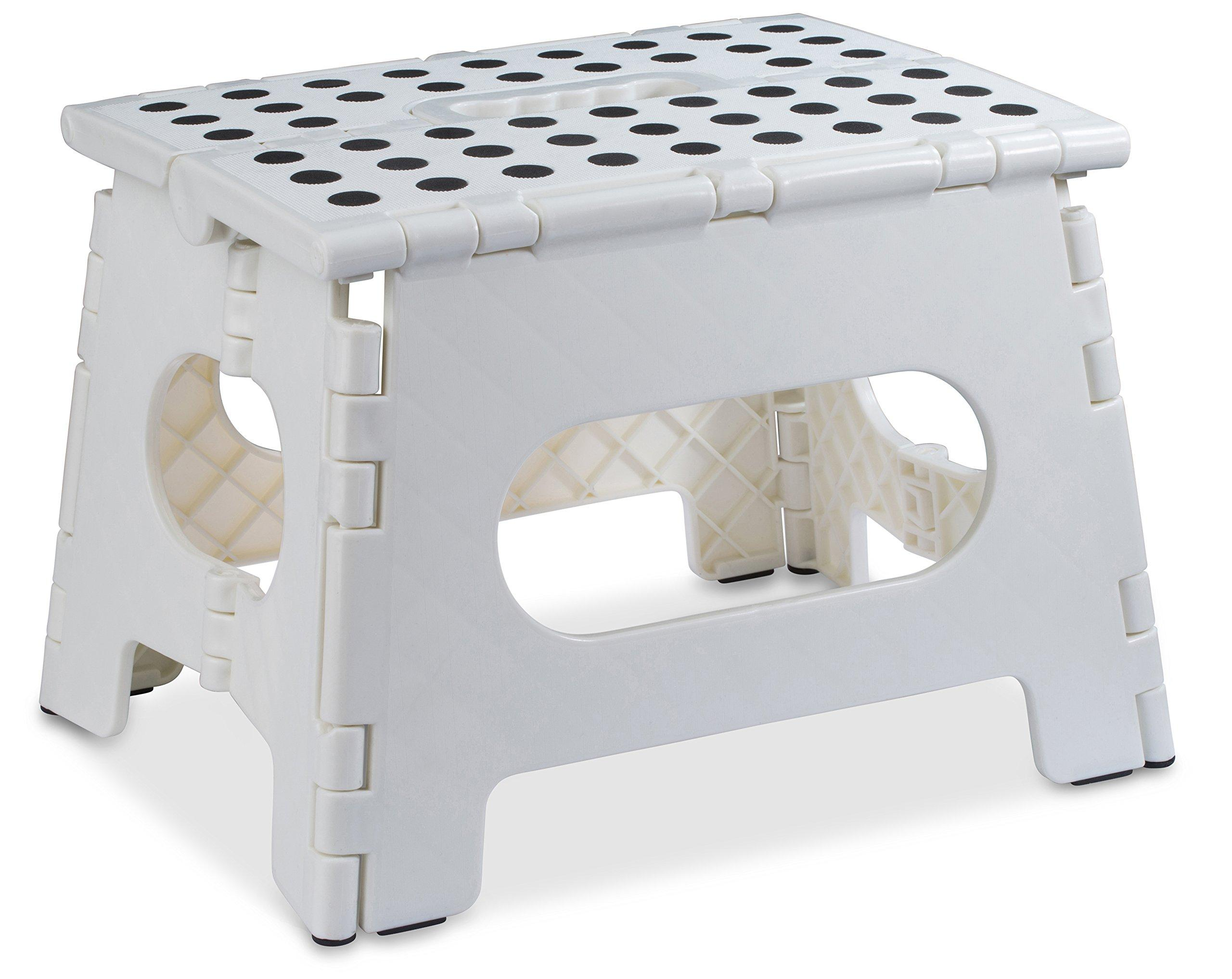 Fine Folding Step Stool The Lightweight Step Stool Is Sturdy Enough To Support Lamtechconsult Wood Chair Design Ideas Lamtechconsultcom