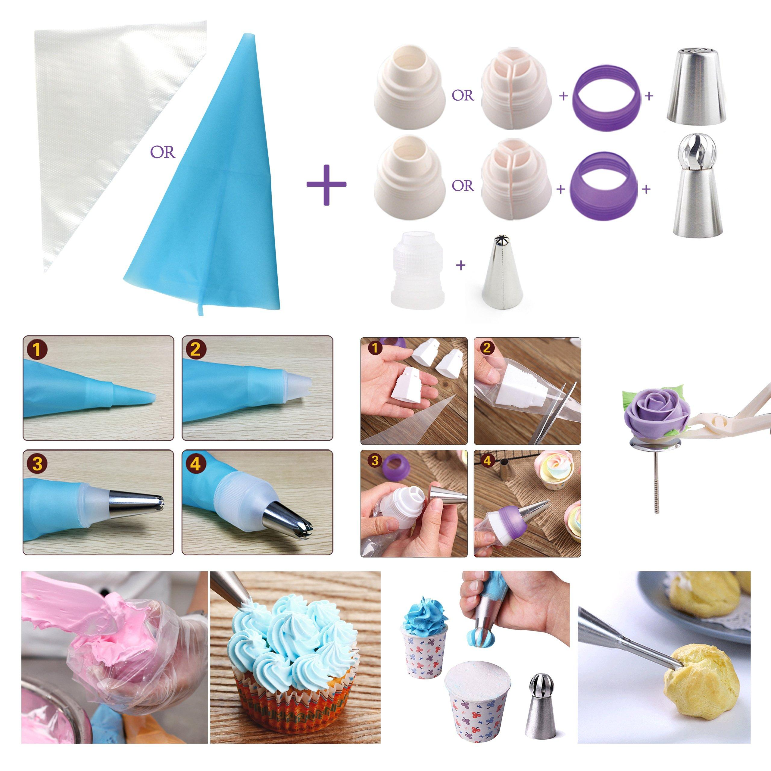 Russian Piping Tips - Cake Decorating Supplies - 88 Baking ...