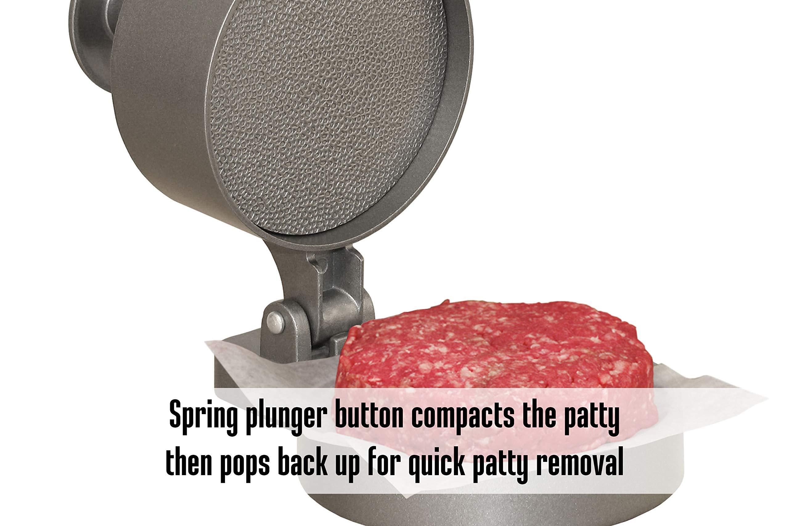 Cabela's single-patty hamburger press