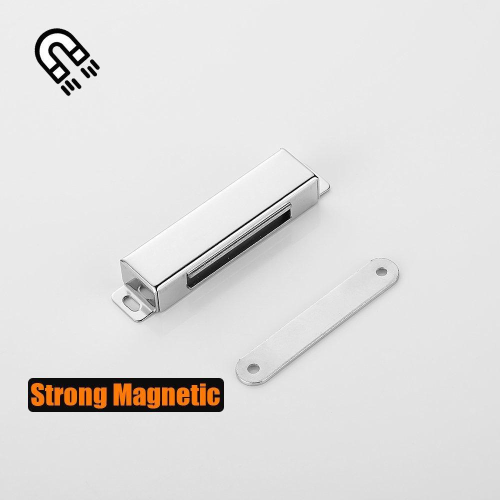 JQK Magnetic Door Catch, Heavy Duty Magnet Latch Cabinet ...