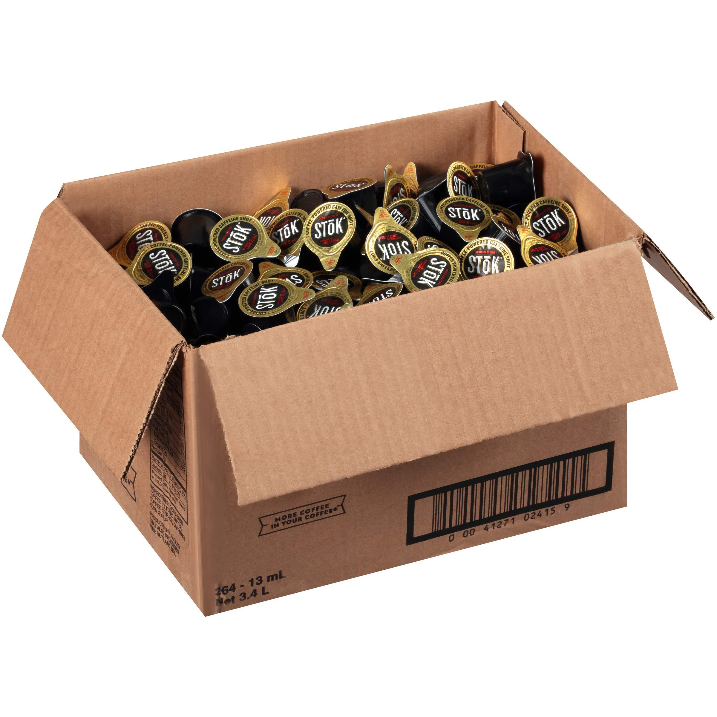 SToK Caffeinated Black Coffee Shots, 264 Single-Serving Shots, Single-Serve S... 41271024159 | eBay