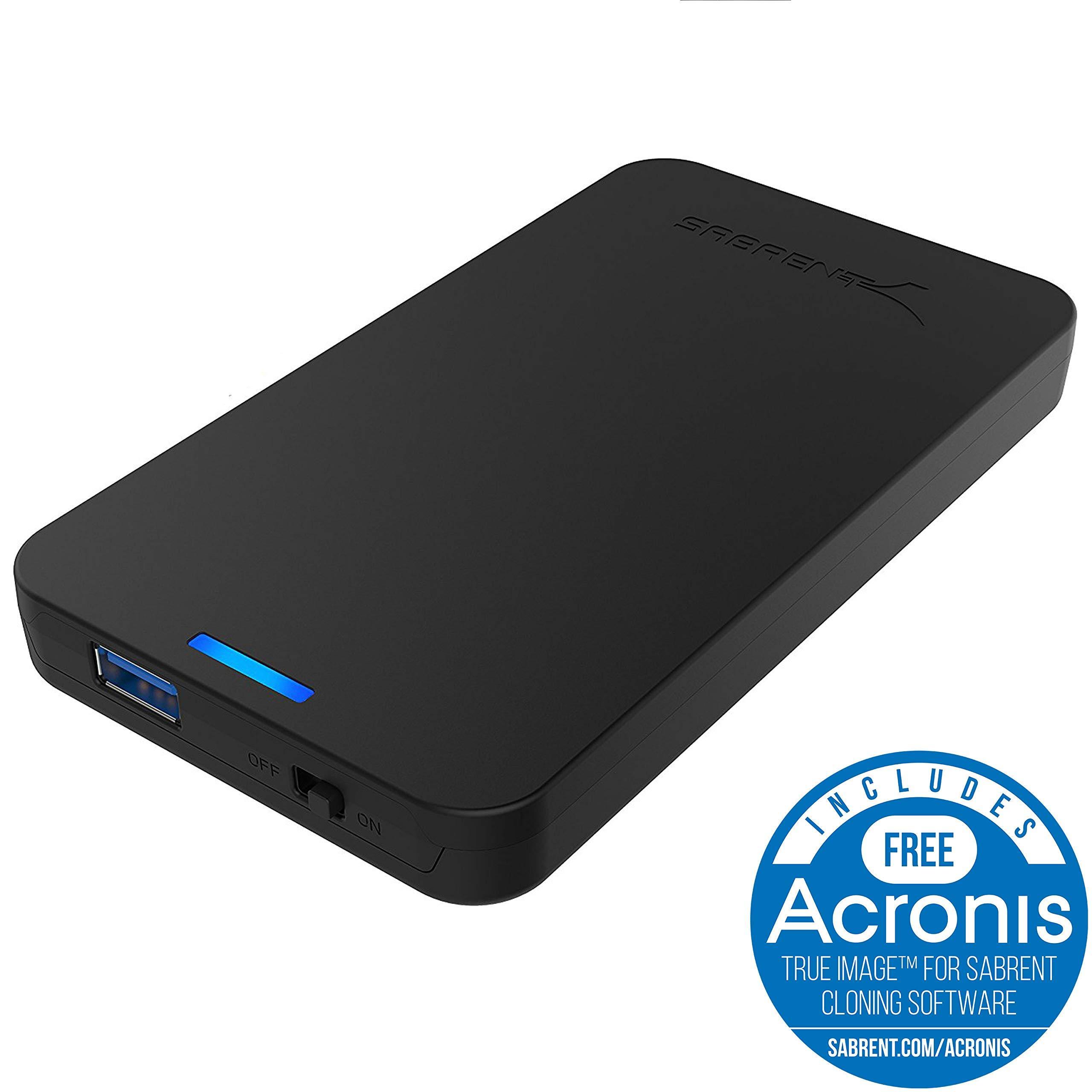 Sabrent 2.5-Inch SATA to USB 3.0 Tool-Free External Hard Dri