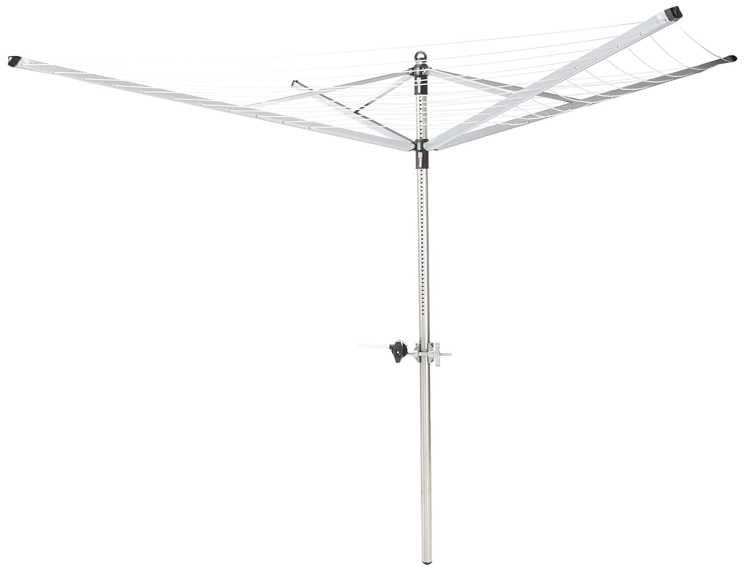 Brand New 4 Arm Outdoor Foldable Clothes line 45 Rotary Clothing Line Hoist