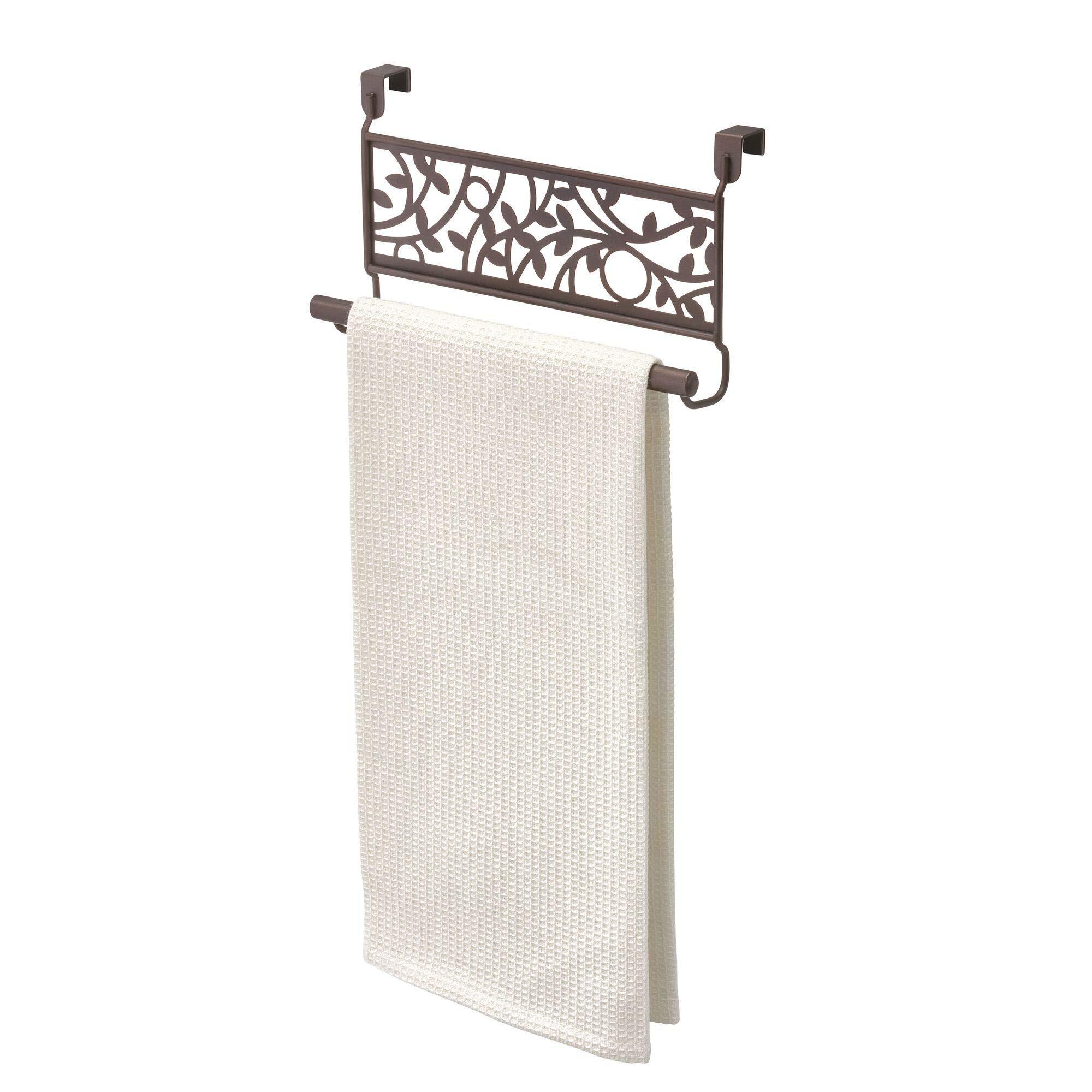 2 Metal Over The Counter Towel Bar ~ Bronze ~ New