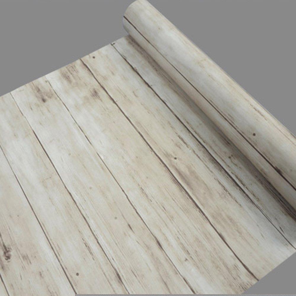 SimpleLife4U Light Brown Wood Grain Contact Paper Self Adhes